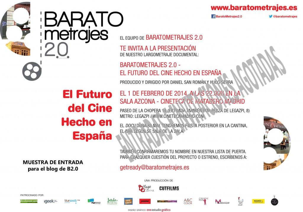 Entrada_BARATOmetrajes_2pax_AGOTADAS