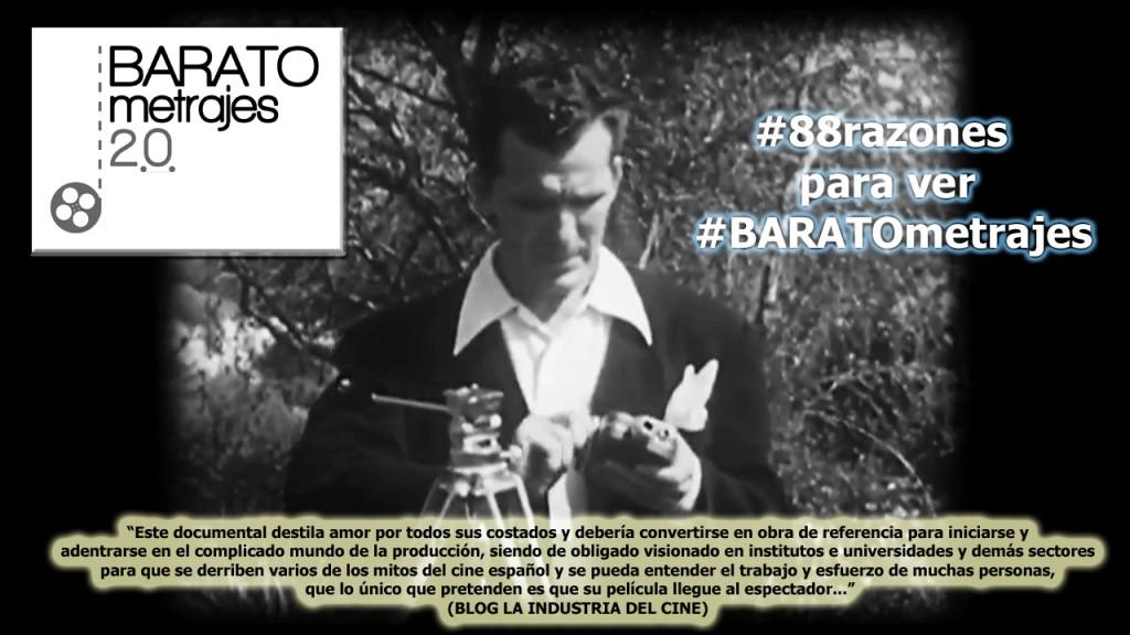 #88razones para ver #BARATOmetrajes